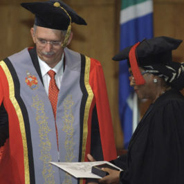 University of Pretoria awards Medal to Edna Adan