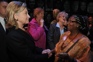Hillary Clinton with Edna Adan in NYC