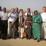 WHO regional deputy director's delegation visits