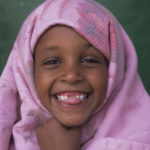 Somaliland child laughing