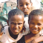 Somali Children at Hospital