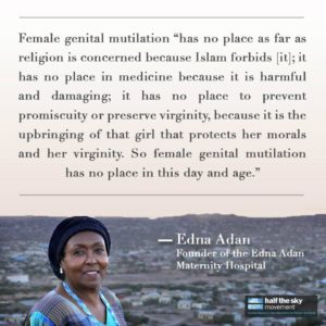 FGM has no place in Islam