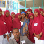 Edna Adan with new Midwives