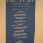 Half The Sky exhibit