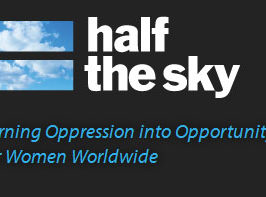 Half the Sky Website Launches