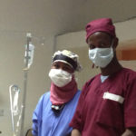 Top trainers Dr. Shugri from Edna Hospital & Dr. Muumin from Boroma National Fistula Hospital.
