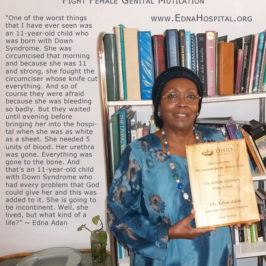 Edna Speaks About FGM
