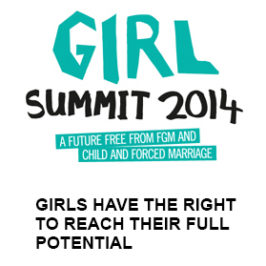 Edna Adan at first Girl Summit in London
