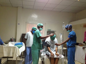 Placing the Spinal before Fistula surgery