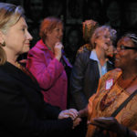 Hillary Clinton with Edna Adan