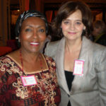 Cherie Blair wife of Tony Blair
