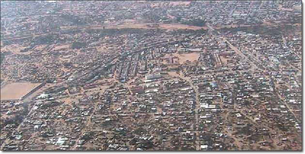 Aerial View of Hospital in Hargeisa