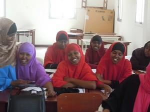 Students at Edna Hospital
