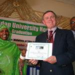 UNFPA Representative awarded Certificate of Appreciation