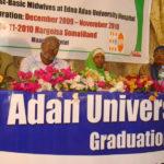 Edna Adan University podium