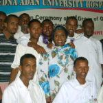 Male nurses graduate, 2010