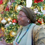 Edna at Christmas