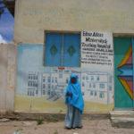 Graffiti Tribute to Edna Hospital