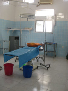 Our old and well-used Operating Theatre