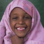 Somaliland child laughing
