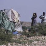 Somali nomads tent home