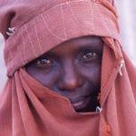 Veiled Somaliland woman