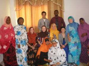 Volunteers with Staff and Students