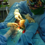 Visiting Surgeons at work