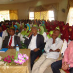 Dignitaries at Graduation Ceremony