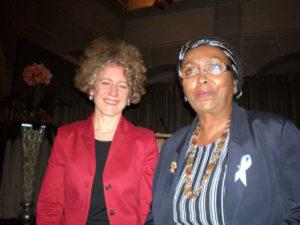 Edna with Mayor of Zurich
