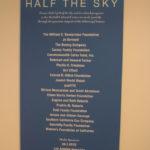Half The Sky exhibit